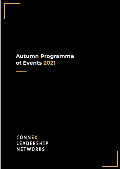 Autumn Programme of Events 2021 Cover